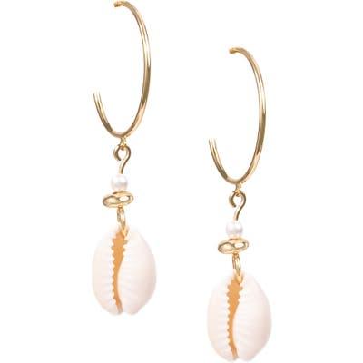 Uncommon James By Kristin Cavallari Seashell Drop Earrings