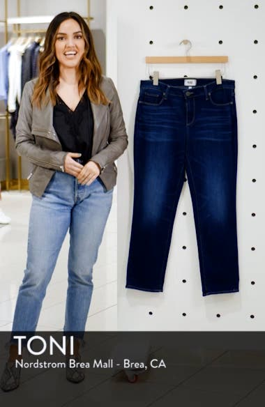 Brigitte Transcend Vintage High Waist Crop Boyfriend Jeans, sales video thumbnail