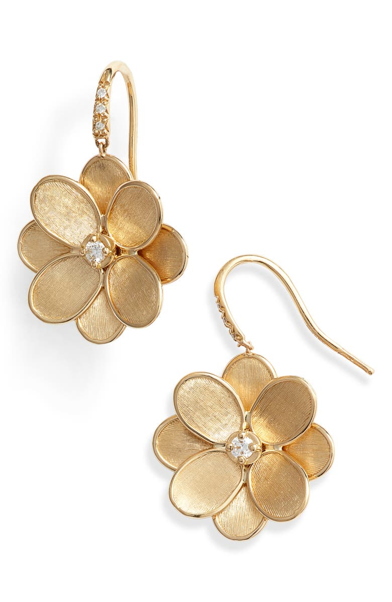 Marco Bicego Petali Diamond Drop Earrings
