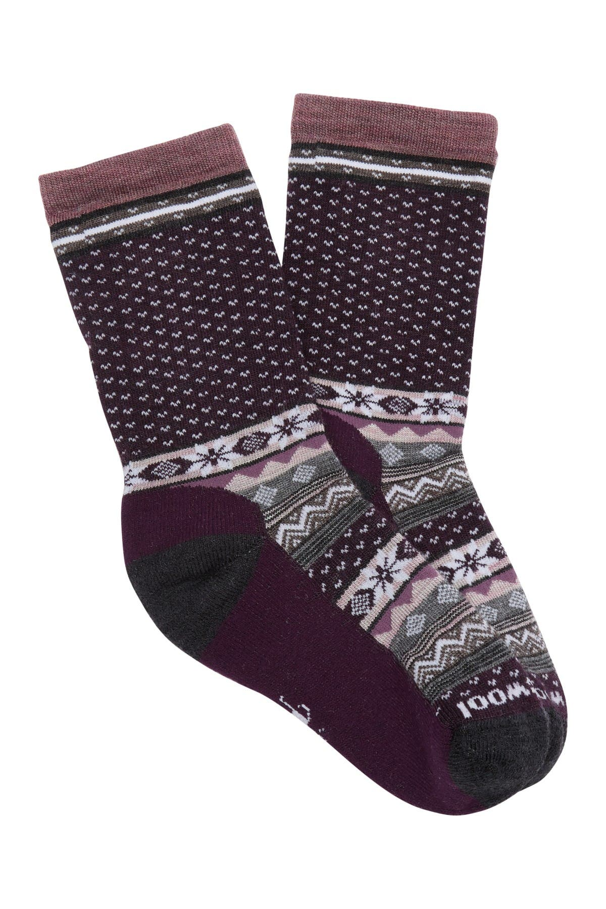 Image of SmartWool Cozy Cabin Wool Blend Crew Socks