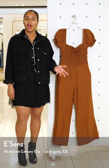 Winnie Wide Leg Linen Jumpsuit, sales video thumbnail