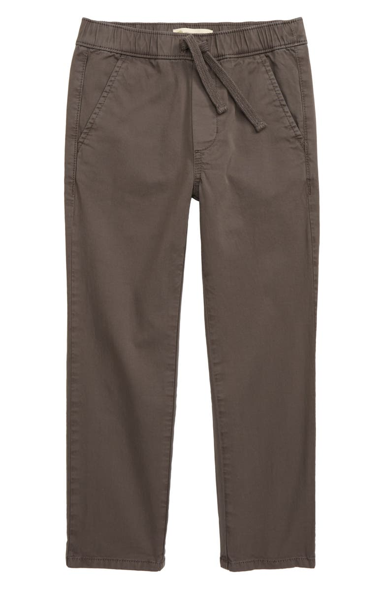 TUCKER + TATE All Day Relaxed Pants, Main, color, GREY FLANNEL