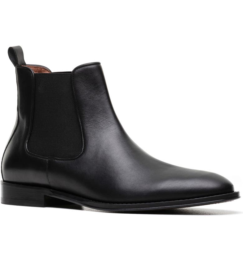 RODD & GUNN Saddleview Place Chelsea Boot, Main, color, NERO