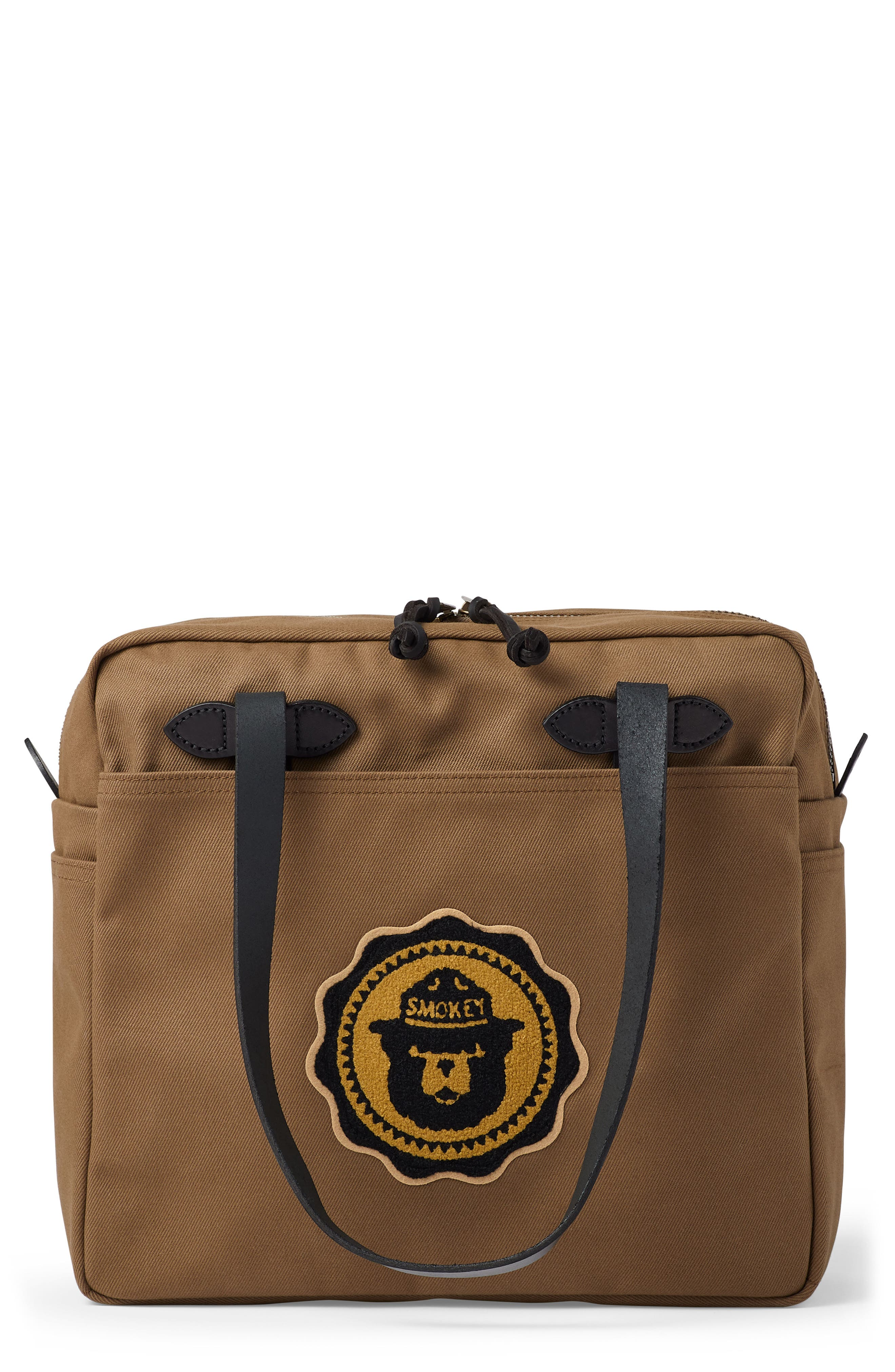 Smokey Bear Water Repellent Twill Tote