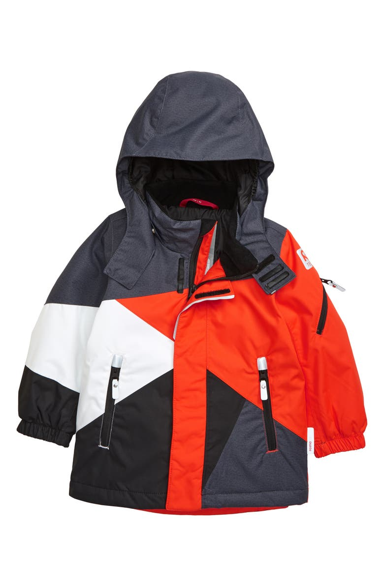 REIMA Reimatec<sup>®</sup> Hooded Winter Jacket, Main, color, ORANGE