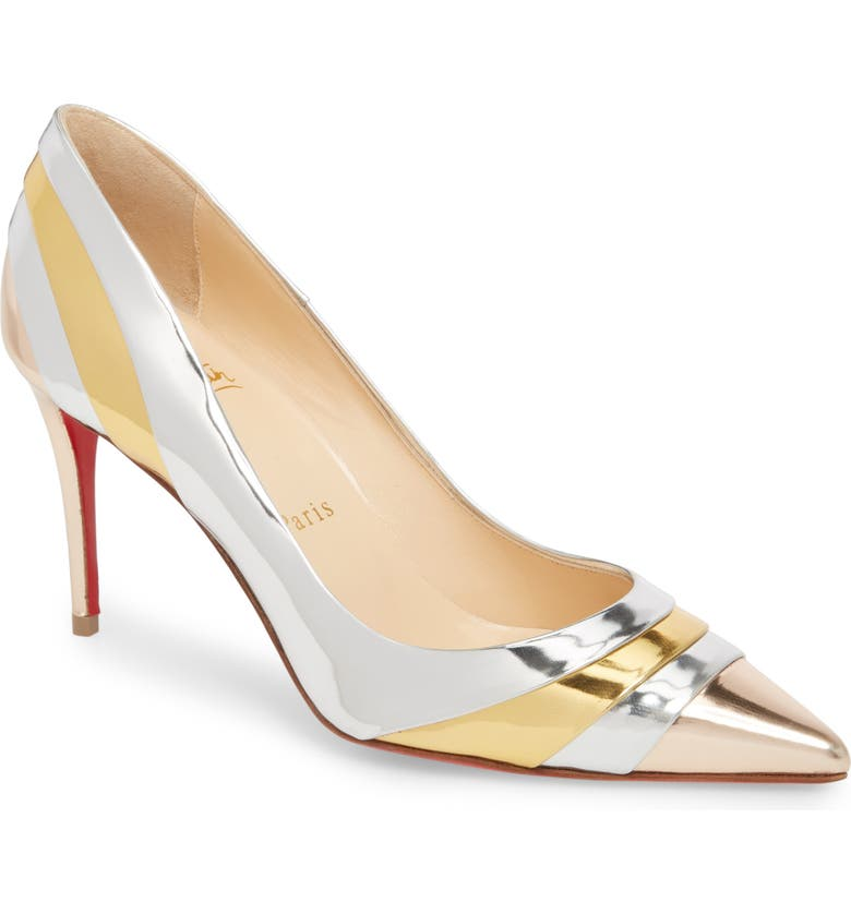 new arrivals eff7f 0eba7 Eklectica Mirror Pointy Toe Pump