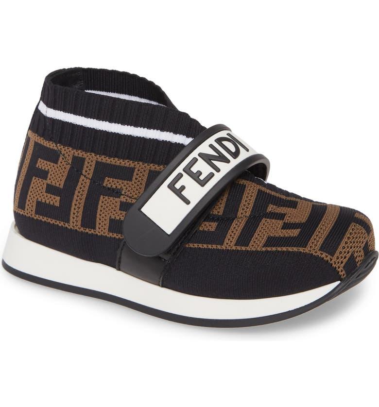FENDI Love Sneaker, Main, color, 001