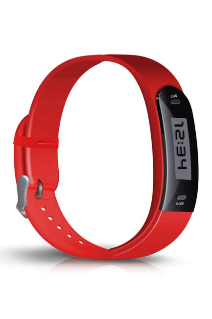 Image of RevJams Red Jarv Active Track Step Tracker Activity Watch Band