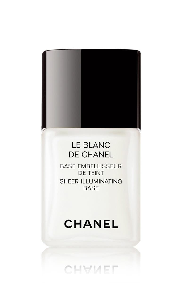 CHANEL LE BLANC DE CHANEL <br />Sheer Illuminating Base, Main, color, 000