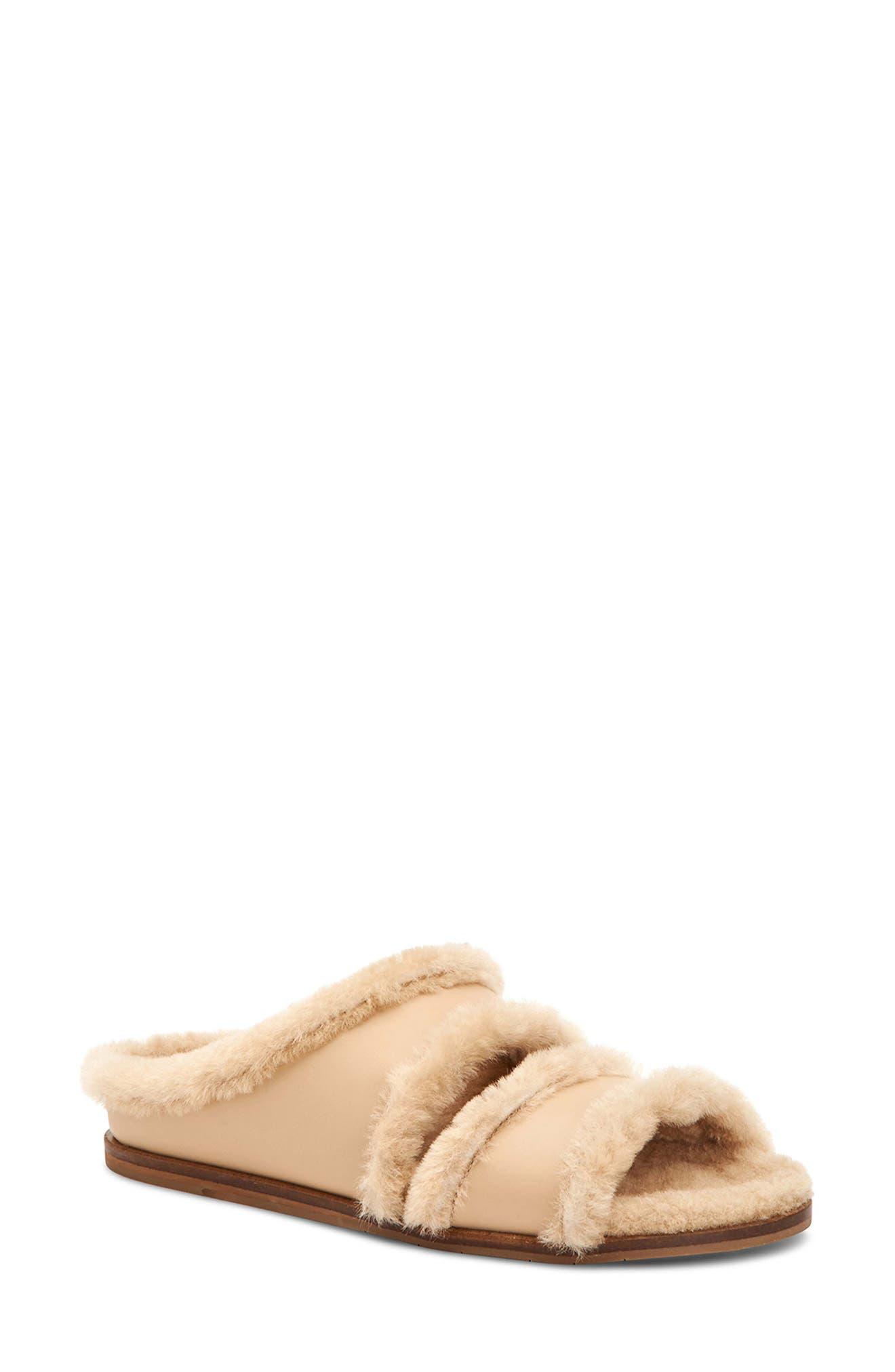 Imina Genuine Shearling Slipper