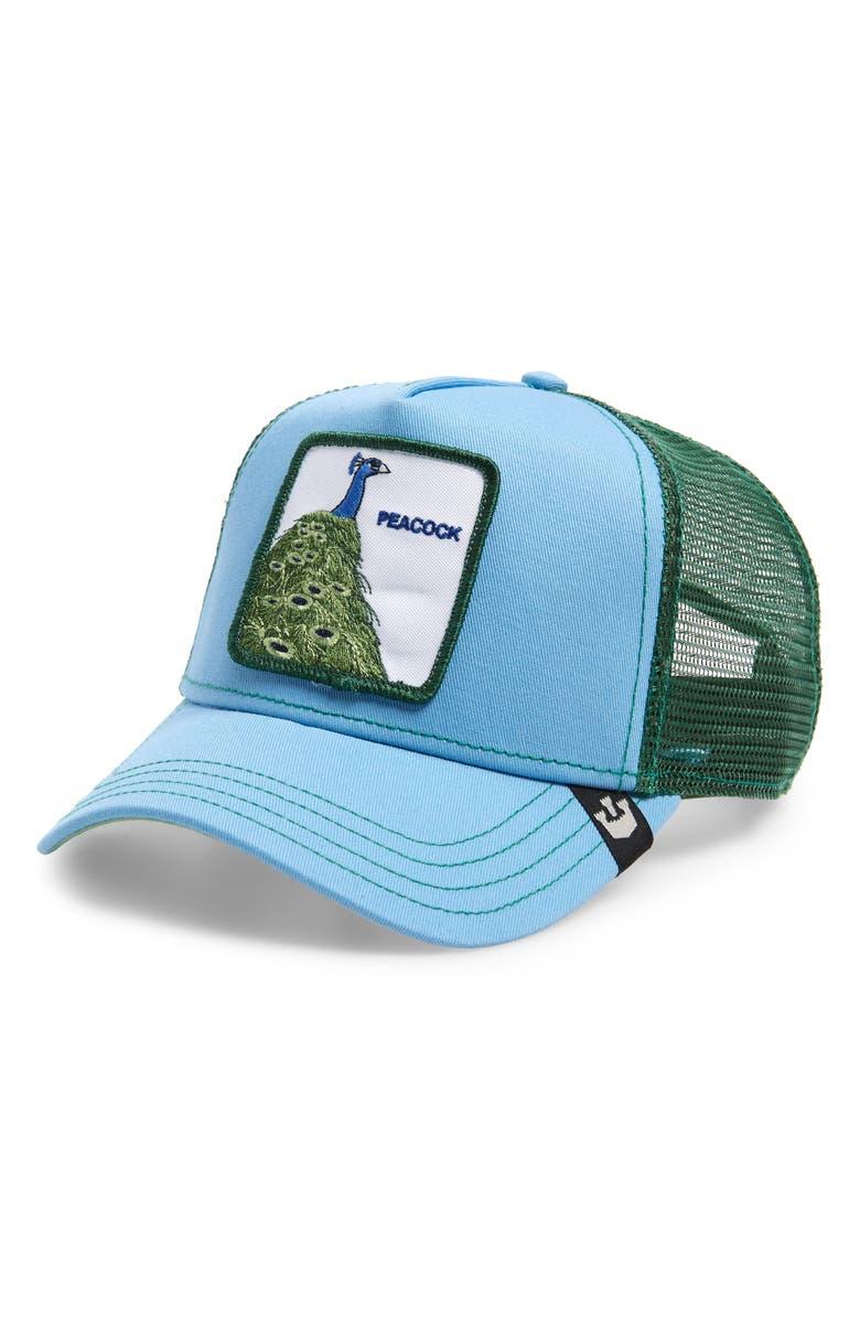 GOORIN BROS. Hey Mister Trucker Hat, Main, color, BLUE