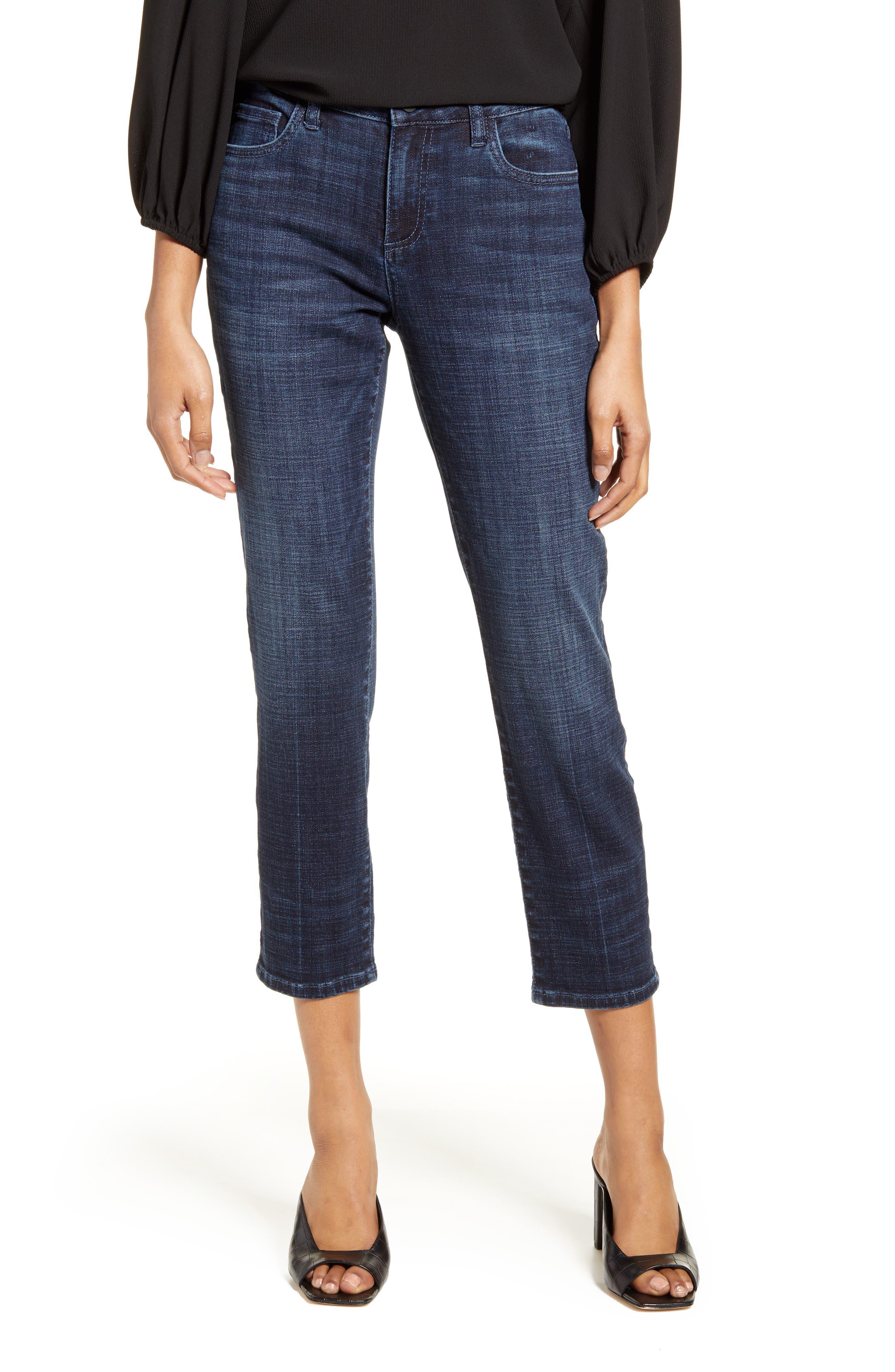 WASH LAB Crop Boyfriend Jeans (Alphabet City)
