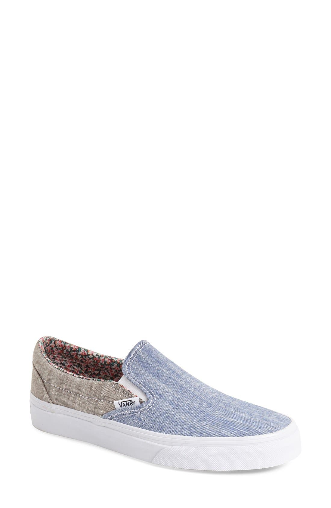 ,                             Classic Slip-On Sneaker,                             Main thumbnail 352, color,                             401