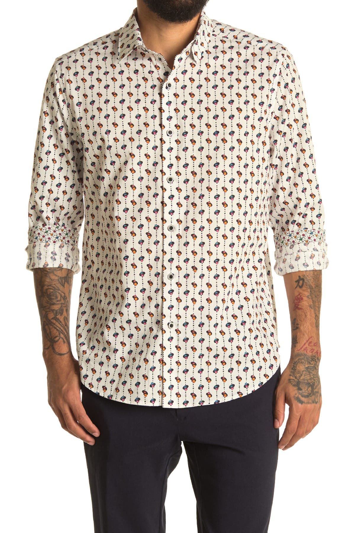 Image of Robert Graham Lingo Long Sleeve Woven Shirt