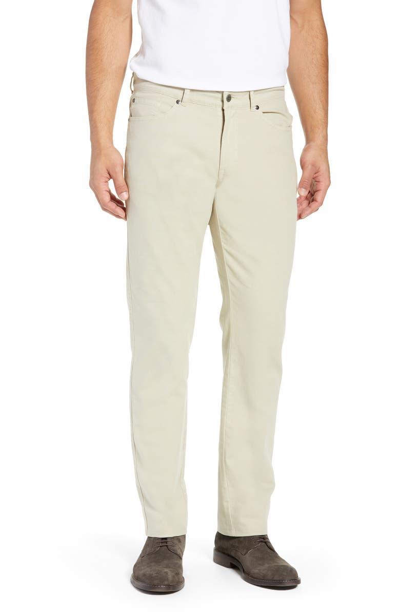PETER MILLAR Crown Vintage Canvas Pants, Main, color, STONE