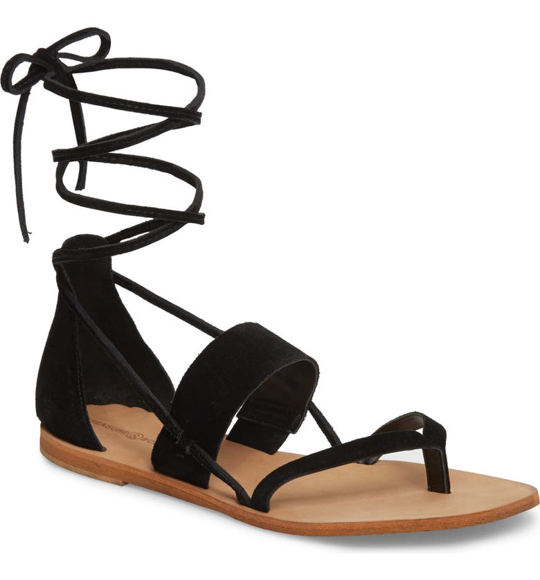 TREASURE & BOND Kara Sandal, Main, color, 001