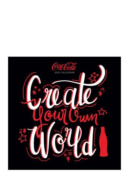Image of TF Publishing 2021 Coca-Cola: COKE RED Wall Calendar