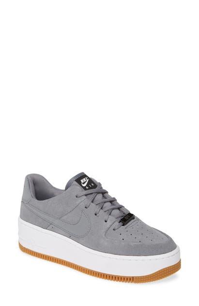 Nike Sportswear Schuhe Air Force 1 Sage Low Cool GreyCool