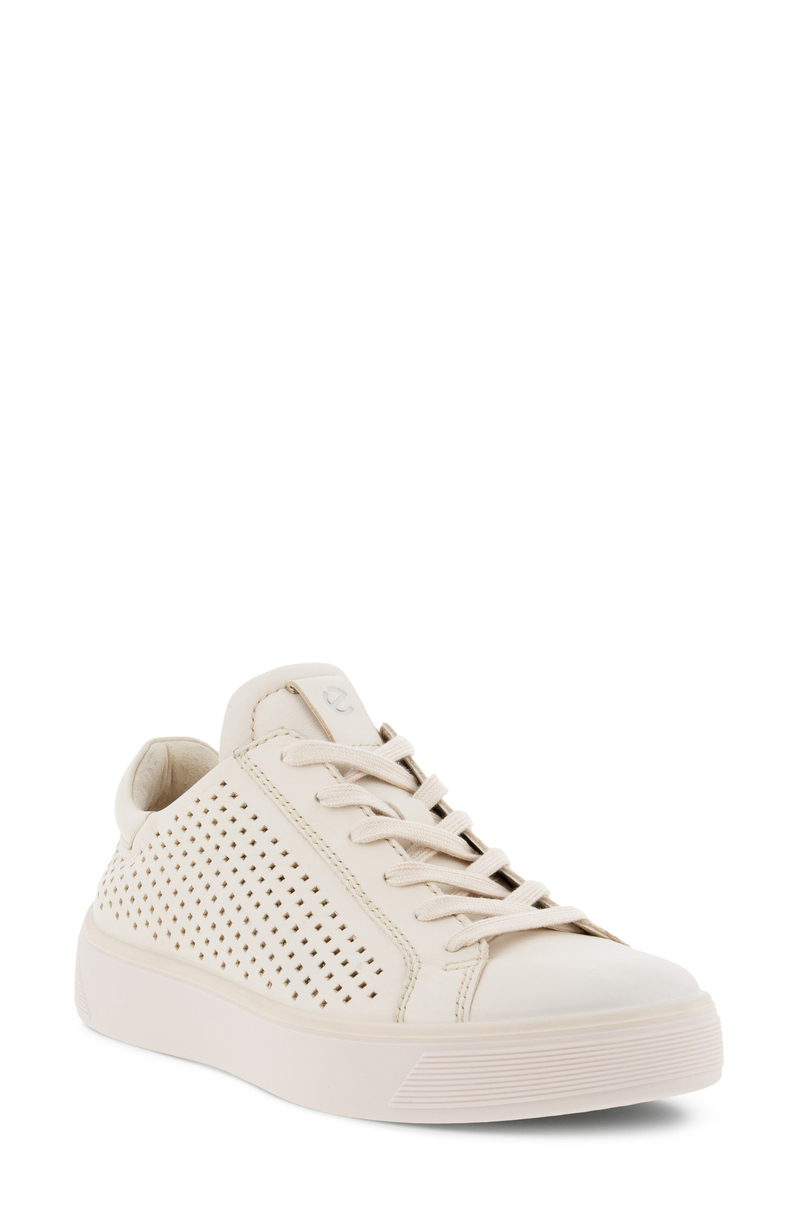 Women's Ecco Street Tray Perforated Sneaker