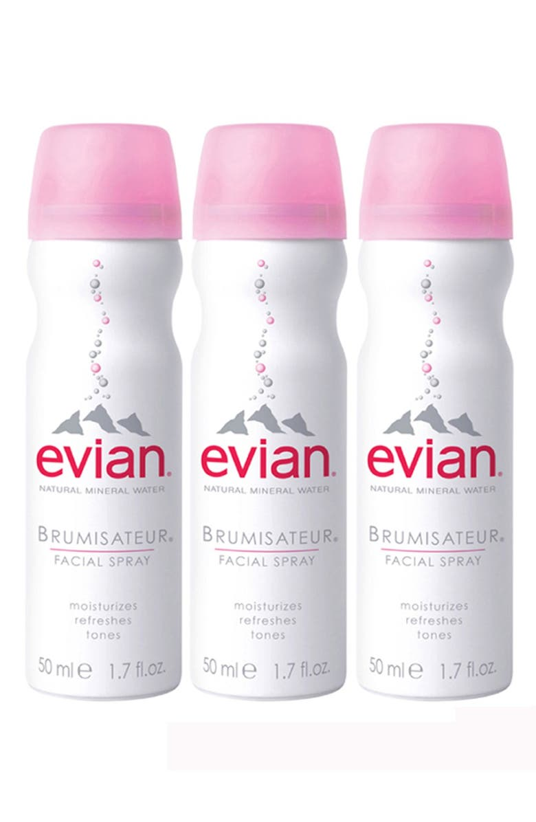 EVIAN <sup>®</sup> Facial Water Spray Trio, Main, color, NO COLOR