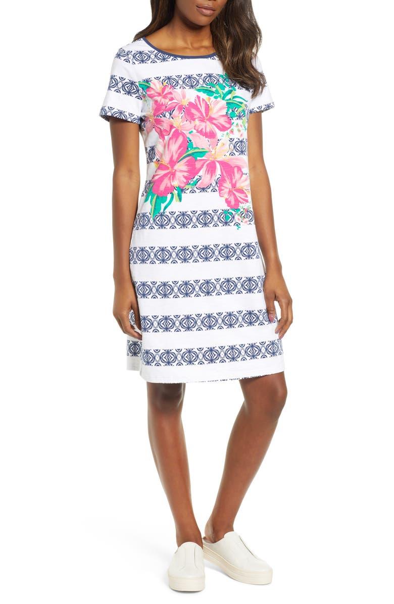 TOMMY BAHAMA Lava Actually T-Shirt Dress, Main, color, 400