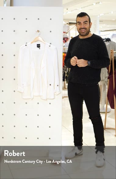 In Flight Linen Blend Knit Jacket, sales video thumbnail
