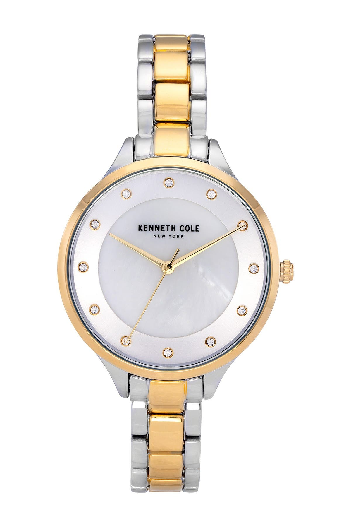 Image of Kenneth Cole New York Women's Classic Two Tone Watch, 36mm