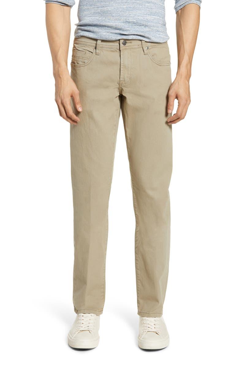 LIVERPOOL Kingston Slim Straight Leg Jeans, Main, color, DUSK GREEN