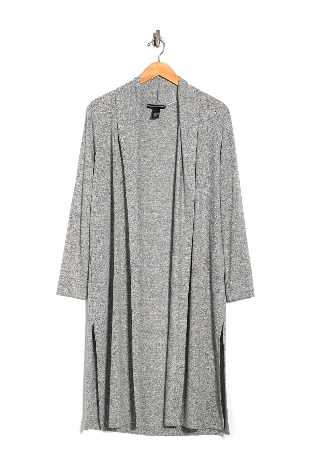 Image of Joan Vass Draped Knit Duster Cardigan