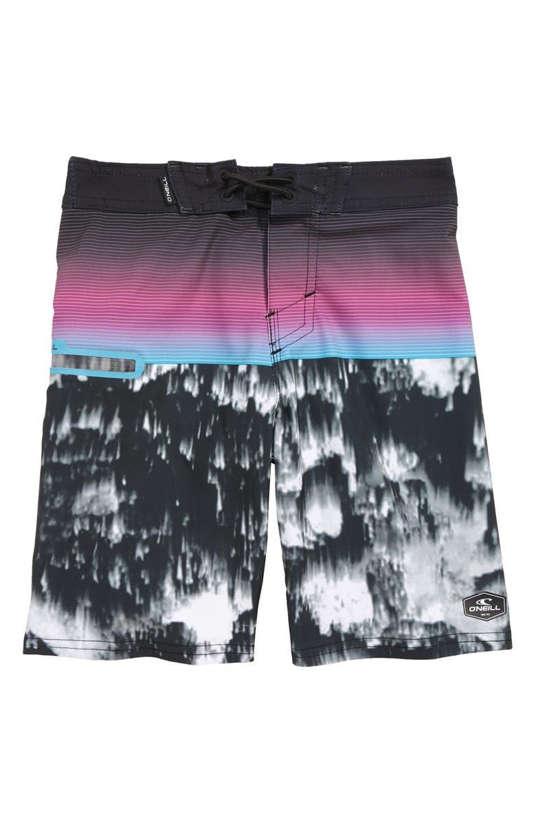 O'NEILL Hyperfreak Board Shorts, Main, color, 001