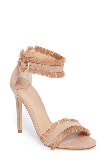Image of Tony Bianco Kimi Fringed Strappy Stiletto Sandal
