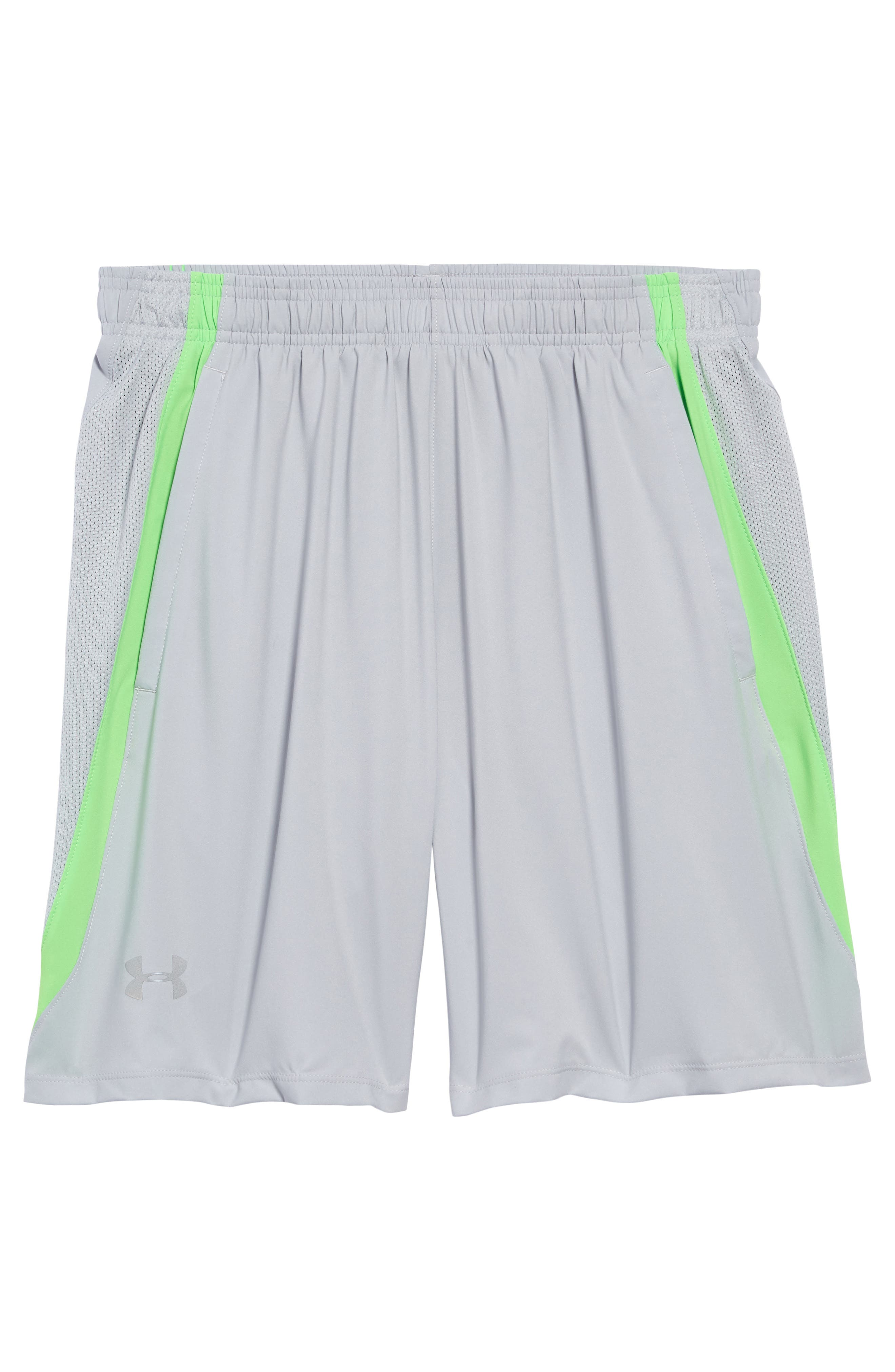 Under Armour Mesh Panel Performance Athletic Shorts