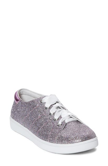 Paige Alesia Glitter Sneaker In Pink
