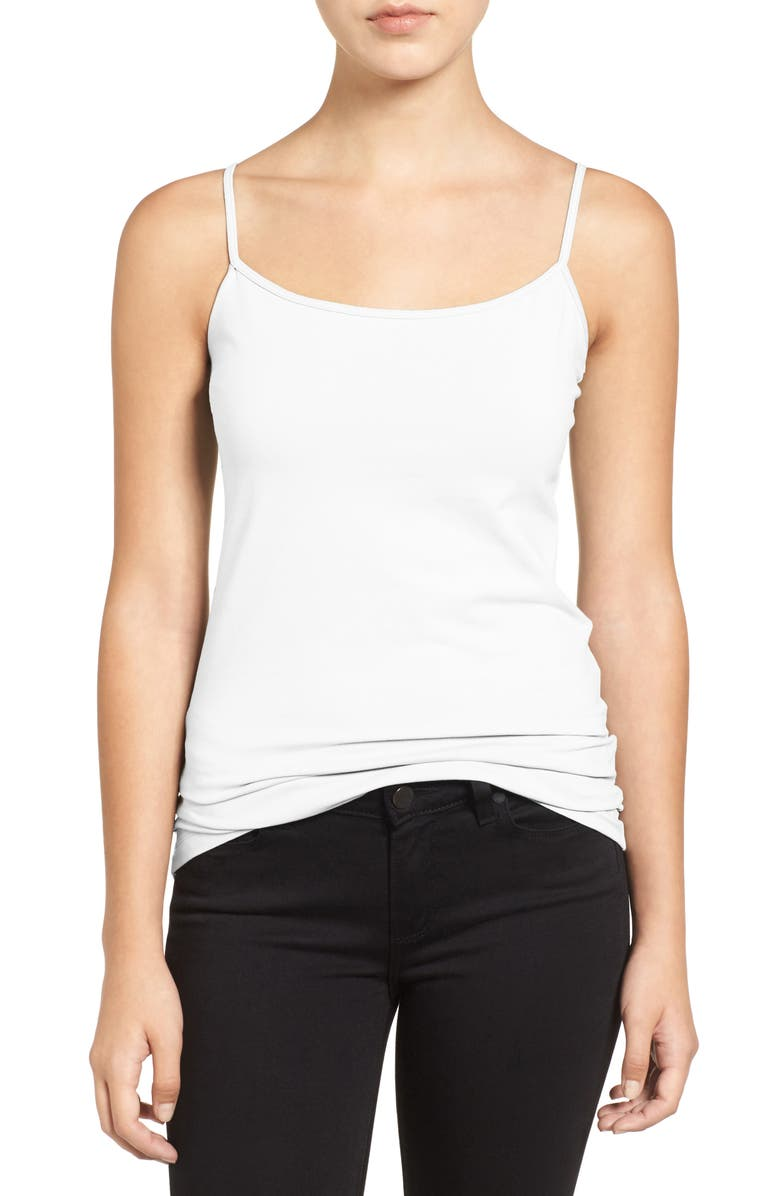 HALOGEN<SUP>®</SUP> Absolute Camisole, Main, color, WHITE
