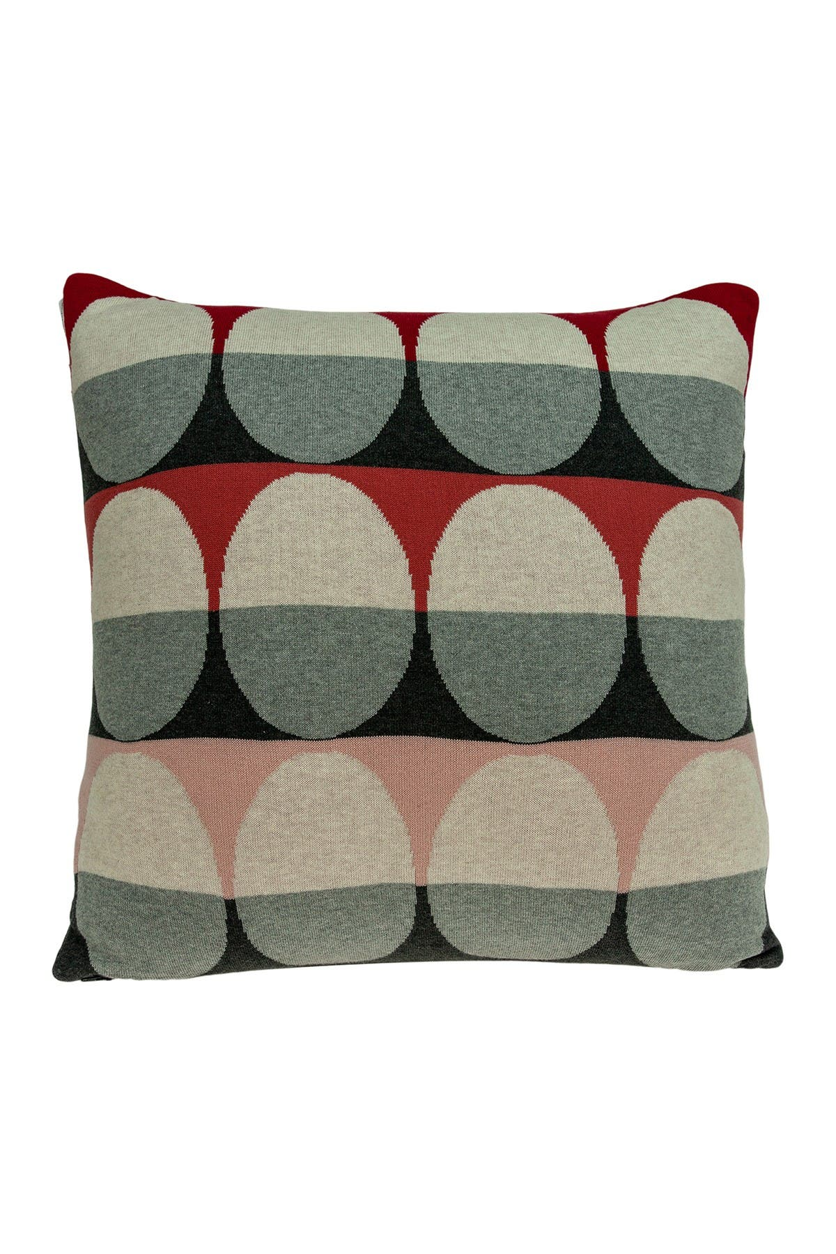 "Image of Parkland Collection Zinca Transitional Pillow - 20"" x 20"" - Multi"