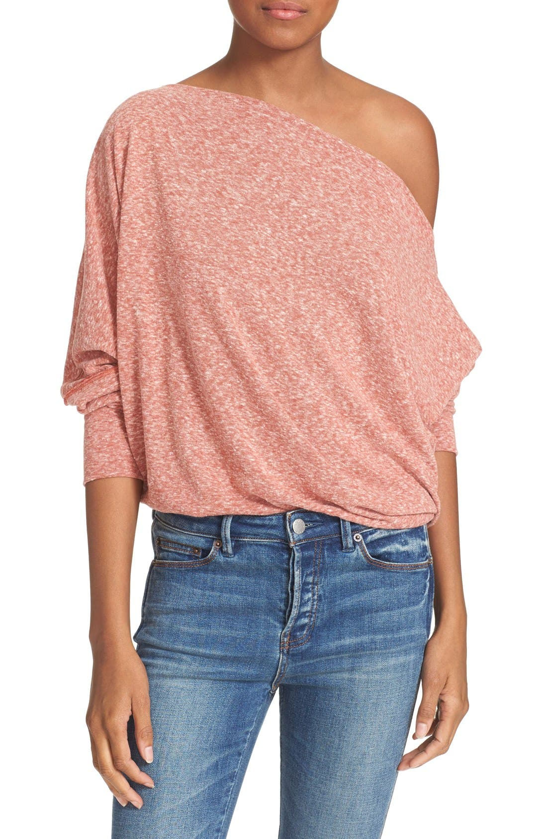,                             Valencia Off the Shoulder Pullover,                             Alternate thumbnail 48, color,                             600