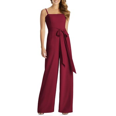 Dessy Collection Alana Crepe Jumpsuit