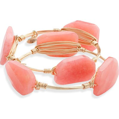 Bourbon And Boweties 2-Pack Crystal Wire Bangles