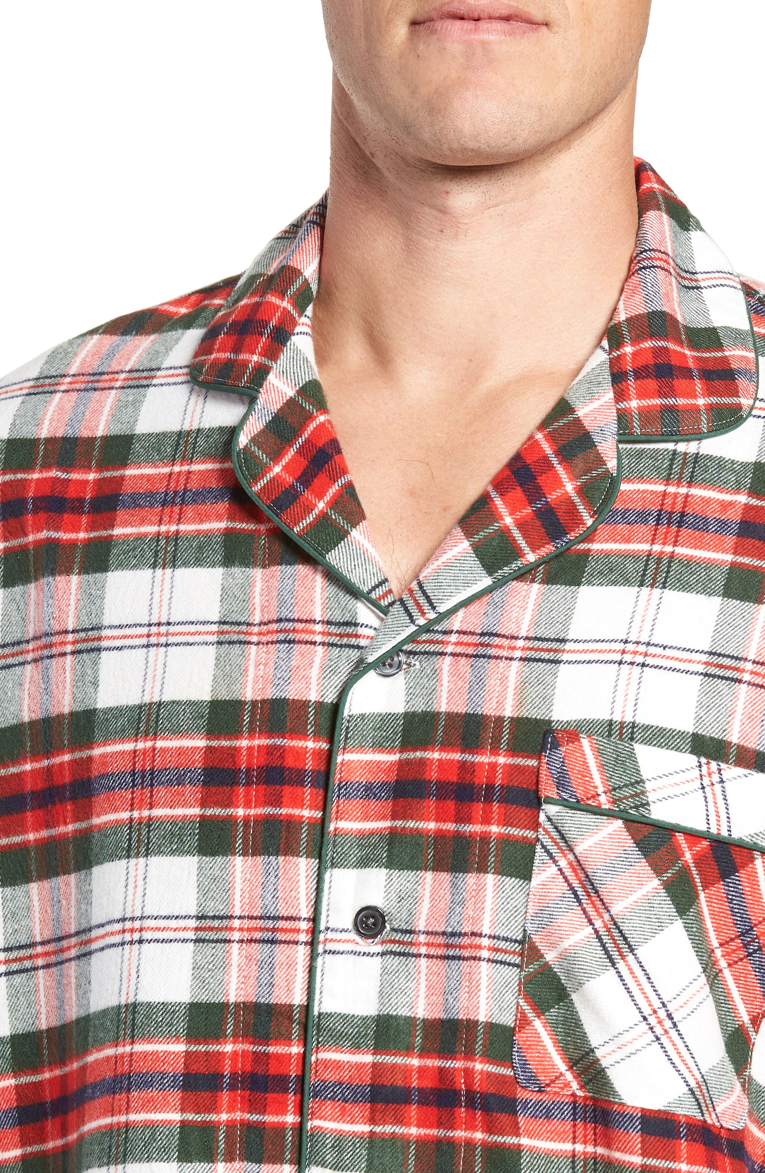 ,                             Family Father Flannel Pajamas,                             Alternate thumbnail 17, color,                             900