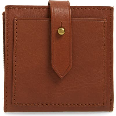 Madewell The Post Billfold Wallet - Brown