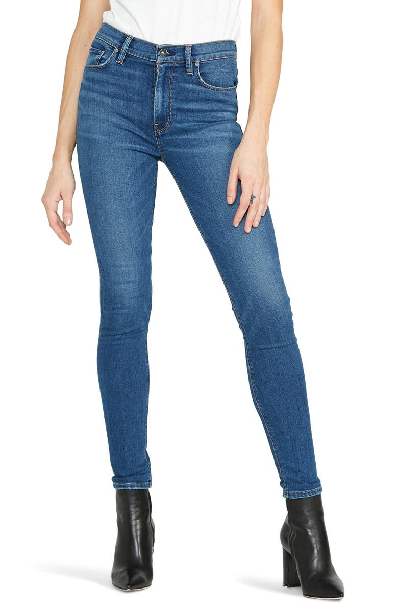 HUDSON JEANS Barbara High Waist Super Skinny Jeans, Main, color, EXCURSION