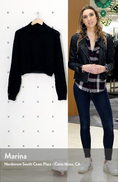 Chevron Crop Sweater, sales video thumbnail