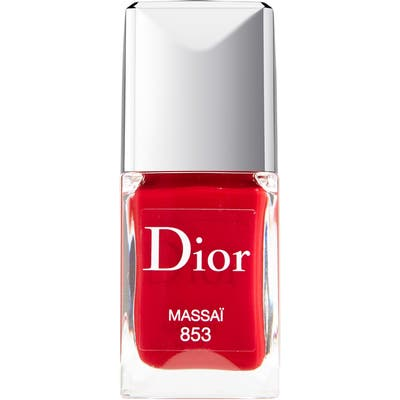 Dior Vernis Gel Shine & Long Wear Nail Lacquer - 853 Massai