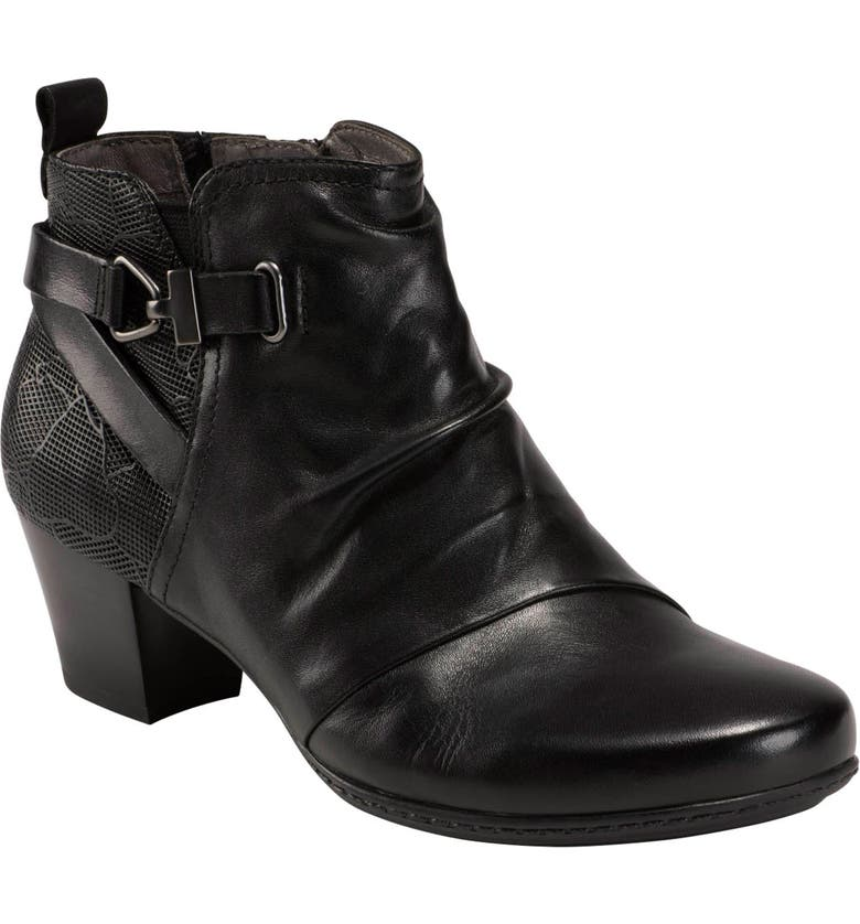 EARTH<SUP>®</SUP> Earth Calgery Halifax Bootie, Main, color, BLACK LEATHER