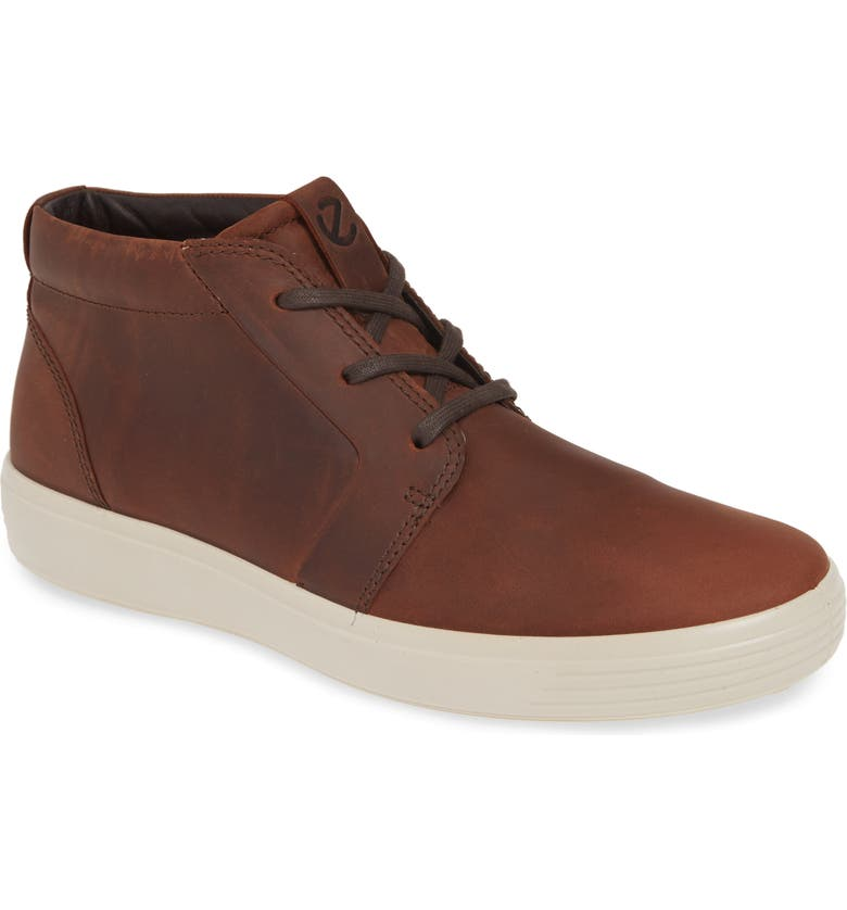ECCO Soft 7 Chukka Boot, Main, color, BRANDY LEATHER