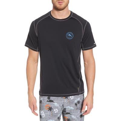 Tommy Bahama Island Active Breakline T-Shirt, Black