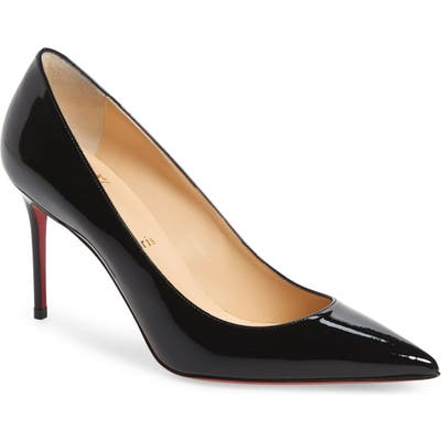 Christian Louboutin Pointy Toe Pump - Black