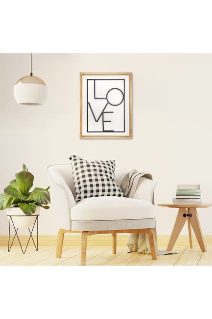 Image of Stratton Home Modern LOVE Wall Art