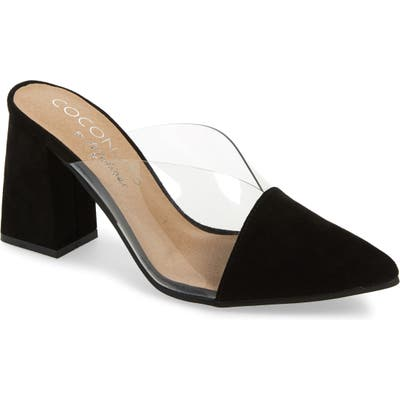 Coconuts By Matisse Shauna Translucent Mule, Black
