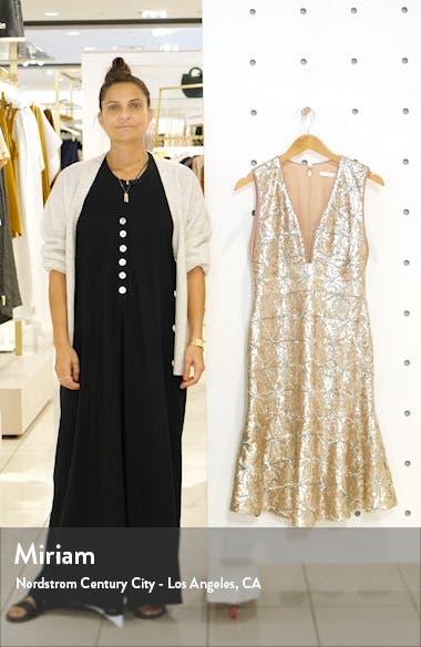 Sequin Flare Hem Cocktail Dress, sales video thumbnail